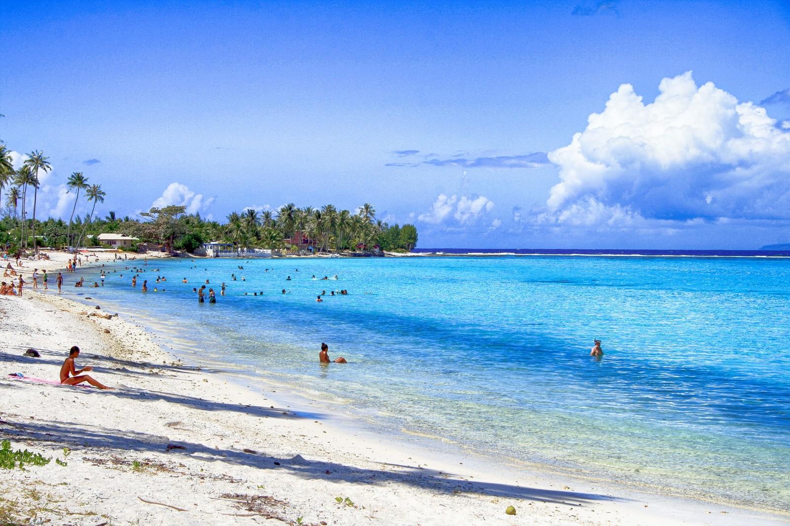 マイルを貯めてこんなビーチでバケーション