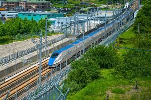 北陸新幹線の画像