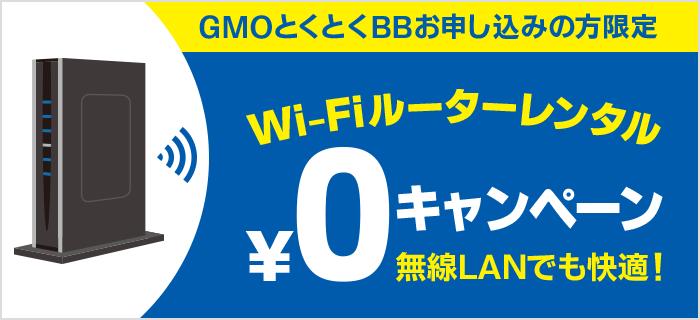 ドコモ光 GMOとくとくBB ルーター