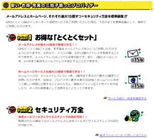 ドコモ光×GMOとくとくBBで提供されるサービス