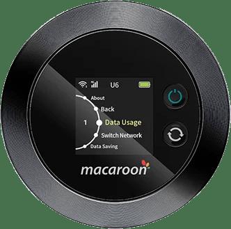 MONSTER MOBILEでレンタルされるWi-Fiルーター「Macaroon M1」